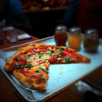 Photo taken at Piece Brewery and Pizzeria by Leigh L. on 4/23/2012