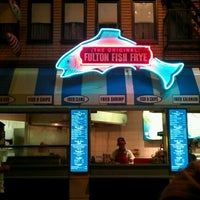 Photo taken at (The Original) Fulton Fish Frye by Kim M. on 11/17/2011