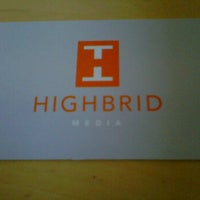 Photo taken at Highbrid Media by Pres G. on 6/8/2011