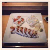 Photo taken at Sushi Cafe by James S. on 5/26/2012