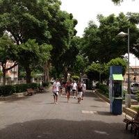 Photo taken at Ramblas de Santa Cruz by Dante Paolo T. on 8/3/2012