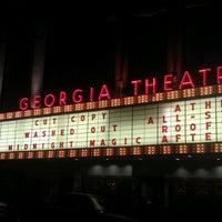 Photo taken at Georgia Theatre by Amanda V. on 9/29/2011
