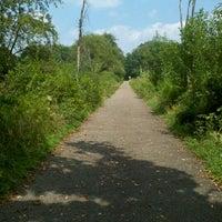 Photo taken at Greenway Bike Trail by Sheena on 11/13/2011