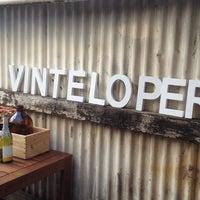 Photo taken at Vinteloper's Urban Winery Project by Samantha C. on 3/25/2012