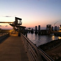 Photo taken at Galveston - Bolivar Ferry by Caleb H. on 7/9/2011