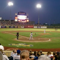 Photo taken at Werner Park by Cathy M. on 9/2/2011