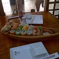 Photo taken at Sushihana by Betzabeth V. on 7/11/2012