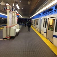 Photo taken at Stadium - Chinatown SkyTrain Station by Robbie G. on 3/30/2012
