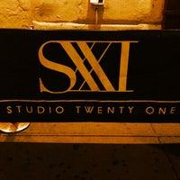 Photo taken at Studio 21 by Cris A C. on 7/14/2012