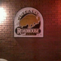 Photo taken at Buffalo Roadhouse Grill by Colleen K. on 2/16/2012
