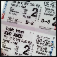 Photo taken at BIG Cinemas by Maybe W. on 7/12/2012