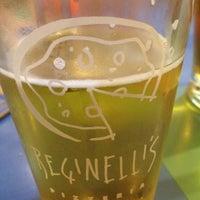 Photo taken at Reginelli's Pizzeria by Brandon M. on 3/28/2012