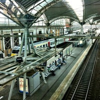 Photo taken at Station Leuven by Kristof D. on 6/19/2012