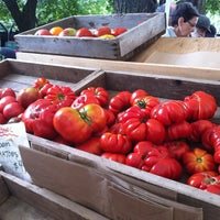 Photo taken at Dufferin Grove Farmers' Market by Val on 9/4/2012