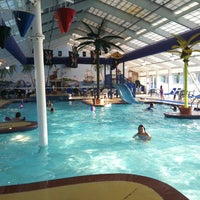 Photo taken at Caribbean Key Indoor Theme Pool by GetNoticed PR on 4/30/2012