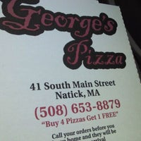 Photo taken at George's Pizza by Meghan M. on 1/28/2012