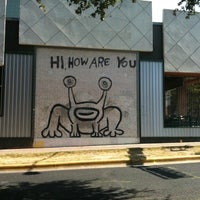 Photo taken at Hi How Are You? Mural by Dennis M. on 7/23/2011