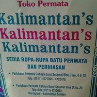 Photo taken at Toko Permata Kalimantan's by July F. W. on 11/12/2011