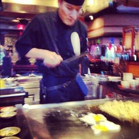 Photo taken at Musashi's Japanese Steakhouse by C.J. on 2/14/2012
