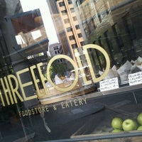 Photo taken at Threefold – Foodstore & Eatery by Sho' Nuff on 10/8/2011