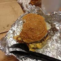 Photo taken at Five Guys by Tiffany N. on 7/30/2012