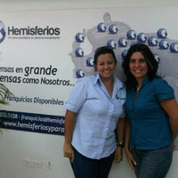 Photo taken at Hemisferios C.A. by Iván de Jesus Y. on 11/2/2011