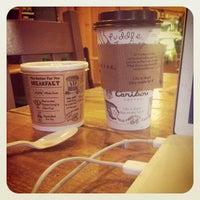 Photo taken at Caribou Coffee by Ryan B. on 3/20/2012