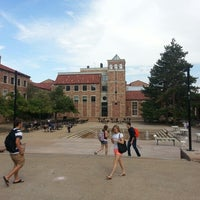 Photo taken at University of Colorado Boulder by Kenny L. on 8/30/2012