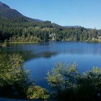Photo taken at Nita Lake Lodge by MJ C. on 9/8/2011