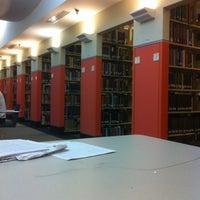 Photo taken at Joyner Library by Katie N. on 12/8/2011