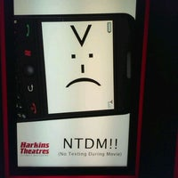 Photo taken at Harkins Theatres Park West 14 by Nate R. on 10/18/2011