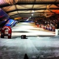 Photo taken at SnowWorld by Elja P. on 3/16/2012