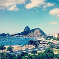 Photo taken at Enseada de Botafogo by Luiz R. on 8/24/2012