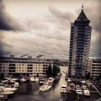 Photo taken at The Chelsea Harbour Hotel London by Haya A. on 7/3/2012