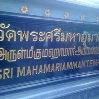 Photo taken at วัดพระศรีมหาอุมาเทวี (วัดแขก) Sri Mahamariamman Temple by Tookkata W. on 1/1/2011