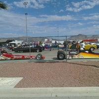 Photo taken at Las Vegas Motor Speedway by Jonathan T. on 9/30/2011