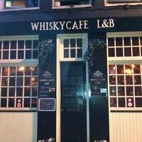 Photo taken at Whisky Café L&B by Frank P. on 4/5/2011