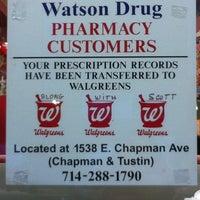 Photo taken at Watson Drugs & Soda Fountain by Danika S. on 4/16/2011