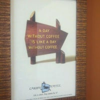 Photo taken at Caribou Coffee by Emery B. on 5/31/2011