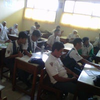 Photo taken at XII IPA 5 SMAN 1 Sindang by Refin W. on 3/2/2011