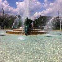 Photo taken at Logan Square by Sara G. on 6/14/2012