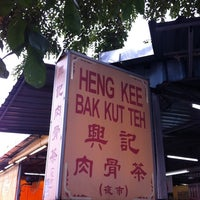 Photo taken at Heng Kee Bak Kut Teh 兴记肉骨茶 by Lukas on 4/16/2011