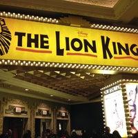 Photo taken at THE LION KING in Las Vegas by Cheri R. on 12/22/2011