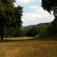 Photo taken at Parco del Valentino by Daniele Agente S. on 8/1/2012