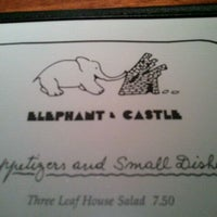 Photo taken at Elephant & Castle by Amber E. on 10/28/2011