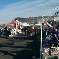 Photo taken at Meadowlands Flea Market by Mike H. on 12/10/2011