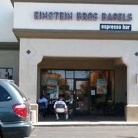 Photo taken at Einstein Bros Bagels by Rick T. on 5/23/2011