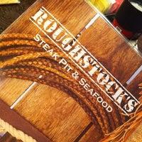 Photo taken at Roughstocks Steak Pit & Seafood by jeremy m. on 8/7/2011