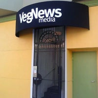 Photo taken at VegNews Magazine by Jack N. on 10/28/2011