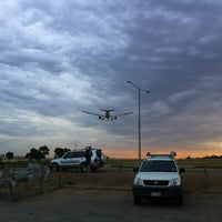 Photo taken at Aircraft Viewing Area 3 (Melbourne Airport) by Ben A. on 1/6/2012